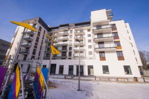 Skylife to nowa inwestycja na warszawskiej Woli znajdująca się przy ul. Jana Kazimierza 33. W dwóch budynkach- Space oraz Liberty znalazło się 160 mieszkań oraz 12 lokali usługowych.