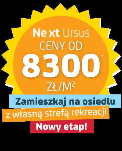 Osiedle Next Urusus, nowe mieszkania od 8300 zł/mkw